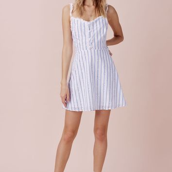 Picnic Eyelet Mini Dress – For Love & Lemons
