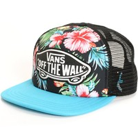 Vans Beach Girl Hawaiian Floral Trucker Hat