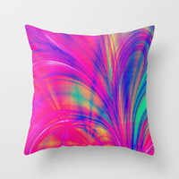 Splash. Throw Pillow by J Coe Photography | Society6