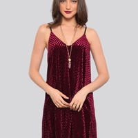 Rhapsody Velvet Mini Dress - What's New | GYPSY WARRIOR