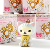 Rilakkuma Motto Nonbiri Neko Mini Figures (Blind Box)