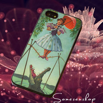 Girl With The ,Umbrella /CellPhone,Cover,Case,iPhone Case,Samsung Galaxy Case,iPad Case,Accessories,Rubber Case/4-4-3