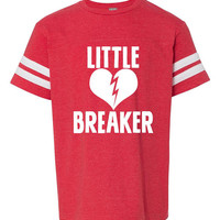 Kids Valentine Shirt, Baby Boy Valentine Outfit, Boys Valentine Tshirt, Little Heartbreaker Shirt, Little Heart Breaker Tshirt, Kid Clothing