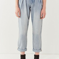 BDG Cruise Pleated Pegged Tapered Jean | Urban Outfitters