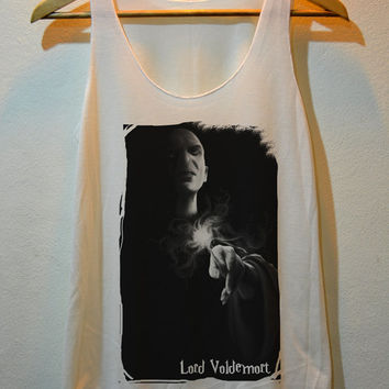 Lord Voldemort Magical Spell Harry Potter Tank Top Vest Ladies Freesize