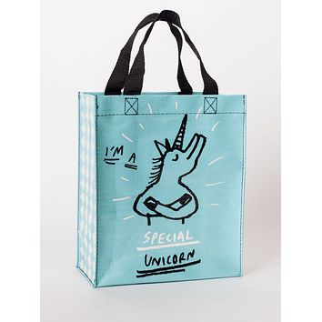 Special Unicorn Handy Tote Bag in Recycled Material