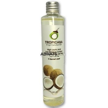100% Natural Organic Extra Virgin Coconut Oil Thailand Best Cold Press Coconut Oil Skin Hair Care Essential Oil