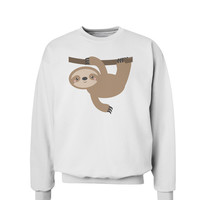 Cute Hanging Sloth Sweatshirt