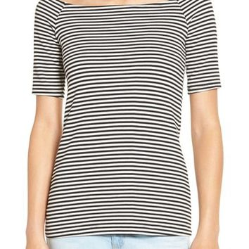 Splendid Stripe Off the Shoulder Top | Nordstrom