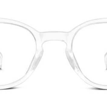 Percel Eyeglasses in Crystal for Women | Warby Parker