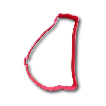 Breast Outline Cookie Cutter