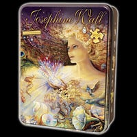 Josephine Wall Crystal of Enchantment Jigsaw Puzzle in Collectors Tin
