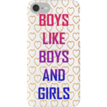 'BOYS BOYS GIRLS' T-Shirt by demonhatter