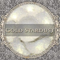 GOLD STARDUST Mineral Eyeshadow: 5g Sifter Jar, Iridescent Yellow, Vegan Cosmetics, Shimmer Eyeshadow