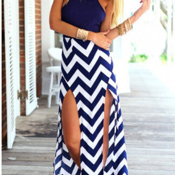 Stripes Striped One Piece Dress = 5826376961
