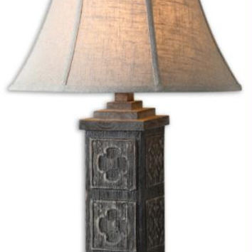 Table Lamp - Oatmeal Shade