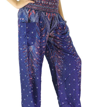 Boho Harem Pants/ Hippie Pants/  Yoga Pants one size fits