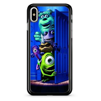 Monster Inc Cover iPhone X Case