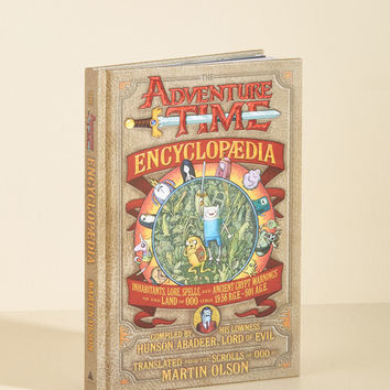 The Adventure Time Encyclopedia | Mod Retro Vintage Books | ModCloth.com