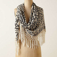 Anthropologie - Fringed Gradation Scarf