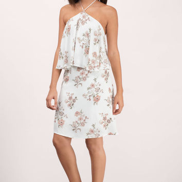 Margot Floral Print Day Dress