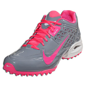 Nike Women's Air Speedlax 4 Turf - Stealth/Pink Flash || LACROSSE.COM