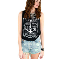 Wild & Free Anchor Graphic Tee