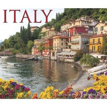 Italy Desk Calendar, Italy by Willow Creek Press