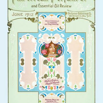 American Perfumer and Essential Oil Review, June 1912 20x30 poster