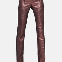 Women's Akris punto 'Clare' Metallic Tuxedo Pants,