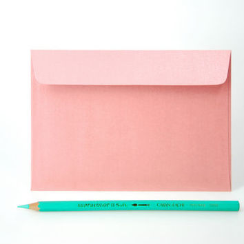 4x6 Metallic Pink Envelopes - for A6 cards (pack of 10 or 20)