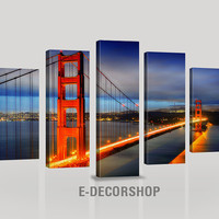 Canvas Print Golden Gate Bridge - Canvas Print San Francisco