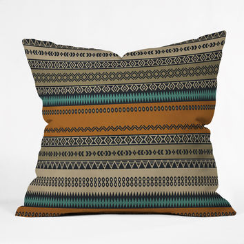 Viviana Gonzalez Textures Abstract 18 Throw Pillow