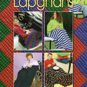 Crochet Lap Quilts instruction and Pattern Book