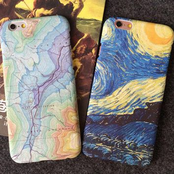 Day-First™ Unique World Map Travelling Case for iPhone