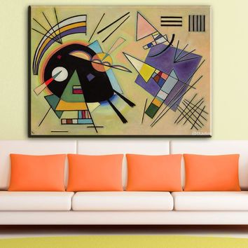 ZZ1176 Wassily Kandinsky painting abstract circle geometry classic art Home Decoration Canvas Poster Print for livingroom wall