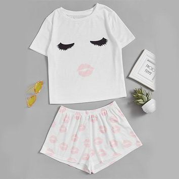 Cute Pajama Set