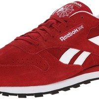 Reebok Men's CL Leather Suede Classic Shoe