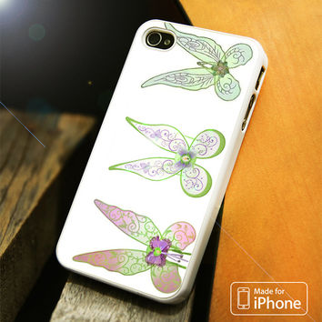 Disney Tinkerbell Wings iPhone 4(S),5(S),5C,SE,6(S),6(S) Plus Case