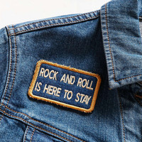 Patch Ya Later Rock And Roll Patch - Urban Outfitters