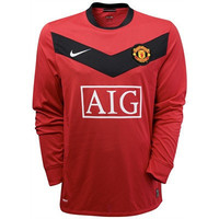 Manchester United jersey Long Sleeve 2009-2010