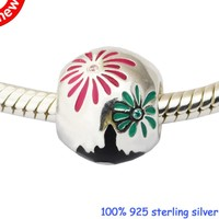 DIY Beads for Jewelry Making Sterling-Silver-Jewelry Fantasyland Fireworks Bead Charms Silver 925 Berloque Perles