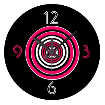 """Frommeto's Target"" Clock"