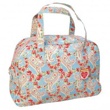 Paisley Park Oilcloth Weekend Bag