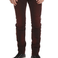 RUDE Rust Overdyed Skinny Fit Denim Jeans
