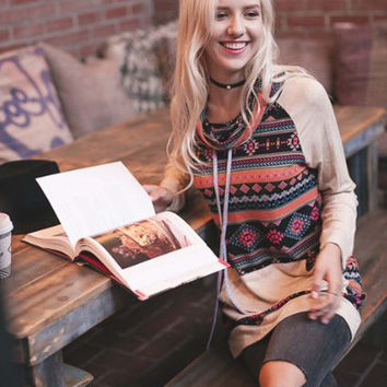 Coffee Break Cozy Sweatshirt