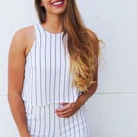The Chance To Stripe Romper