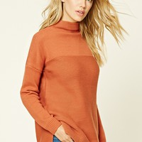 Mock Neck Sweater Tunic