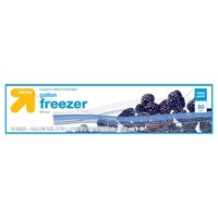 Gallon Freezer Bags - 30ct - Up&Up™ (Compare to Ziploc® Freezer Bags)