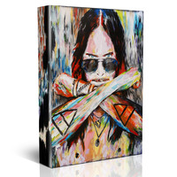 Jared Leto Canvas Art, Thirty Seconds to Mars